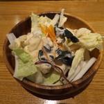 せをりぃ - セットサラダです。