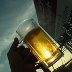 ビアガーデン マイアミ - 2012年6月 ♪手~のBeerを~太陽に~かざしてみ~れ~ば~♪(笑)