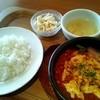 キッチンポット - 料理写真:ランチの煮込みハンバーグ \1000