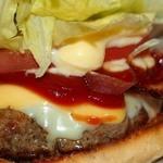 マージル ブラン - チーズ&チーズバーガー(790円)