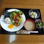 カフェ ソルトン - 料理写真:日替わりおにぎりランチセット