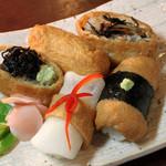 和食処 松屋 - 料理写真:創作いなり寿司