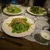 ツノ - 料理写真:有機栽培ベビーリーフサラダ