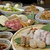 千房 - 料理写真:お得で便利な宴会コースは飲み放題つきで4,300円