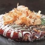 千房 - 人気№1の道頓堀焼は具沢山で美味しいとこ取りのメニュー!