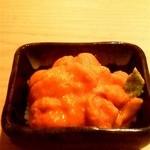 鮨辰 - ウニの小鉢