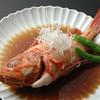 時代寿司 - 料理写真:キンキの煮付け:お寿司以外にもお魚料理をご用意。その日によって変わるので、詳しくは板前さんに☆