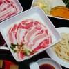 ざ・なべや - 料理写真:名物しゃぶしゃぶ(国産豚肉・国産牛)