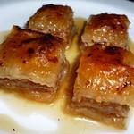 エーゲ海 - ギリシャの伝統的パイ