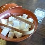 煎売喫茶 治郎兵衛 - 2012.06 佐藤入れもオシャレ♪