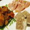 ロジ - 料理写真:アンティパスト(前菜)3種盛り合わせ。