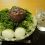 紀の善 - 【2012/6】氷宇治金時(850円)♥