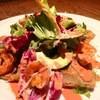 ハレバレ - 料理写真:海老とアボカドのガレット そば粉のクレープ