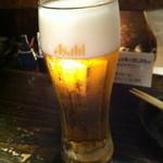 串工房・浪漫亭 - 生ビール (480円)
