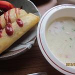 FLIP FLOP - 春巻き&スープ