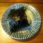 瀧茶屋 - おにぎりは1個200円(2012/6)