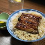 うな達 - うな丼(800円)関東風の鰻です