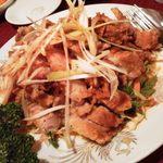 13732094 - 鶏の唐揚げピリ辛ソースかけ