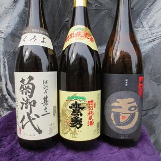 杜氏さん厳選の日本酒!!!