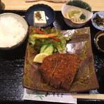 魚菜料理 二代目 みつい - とんかつ定食