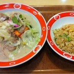 長崎ちゃんめん - チャンポンと炒飯のセット