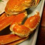 久美浜の宿 つるや - 料理写真:ゆでガニ