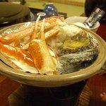 久美浜の宿 つるや - 料理写真:焼きガニ