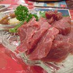 レストラン ワールド - 霜降り馬刺し(12.7ver)