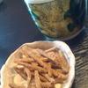 大寿庵 - 料理写真:最初はそば茶とそばのあげたもの
