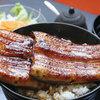 うなぎ 仙見 - 料理写真:大人気名物「はみだし」うな丼