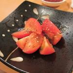 食道楽 輝心 - 冷やしトマト 380円