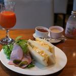ル シエル クレム - 赤城山麗自然卵のたまごサンドセット