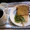 ローズガーデン - 料理写真:シフォンケーキセット