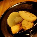 東京焼酎&梅酒bar GEN&MATERIAL - 和歌山おでん 夏は最高☆
