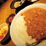 東京焼酎&梅酒bar GEN&MATERIAL - ランチのカレー