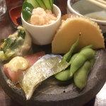 佐海屋旭 - 前菜7種盛り