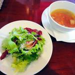 Bevitore - サラダとスープ