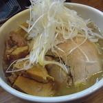 13864170 - へた肉50円入り☆味噌ラーメン