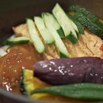 葱坊主 - 夏野菜カレー