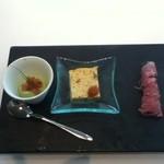 イル・ピノーロ - 前菜3種盛り