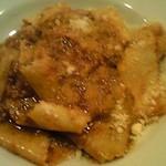 トレ プンティーニ - パッパルデッレ群馬産ウサギの赤ワイン煮込みソース