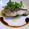 ペンション 八ヶ岳ゲストハウス - 料理写真:真鯛のポワレ レモンバターソースとパルサミコ酢