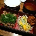 酉文 - 炭火焼き定食