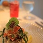 ル ジャルダン グルマン - 自家菜園の野菜を使った一皿