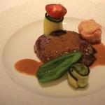 ル ジャルダン グルマン - 和牛のフィレ肉