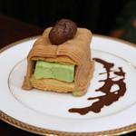 ホシヤマ珈琲店 - ホシヤマ特製モンブラン