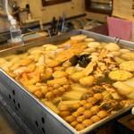 丸健水産 - おでん鍋