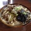 末広 - 料理写真:肉うどん大