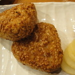 加賀屋 - 焼きおにぎり(2個、430円)