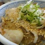 吉野家 - 焼き味 ねぎ塩豚丼(並)